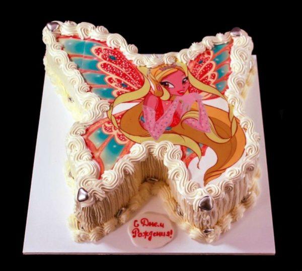 Торт с фотографией №13