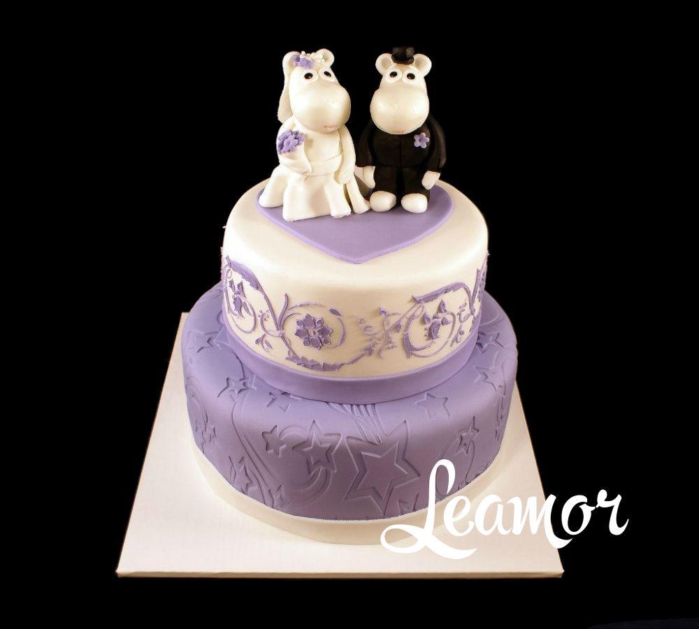 Cвадебный торт с Муми тролли
