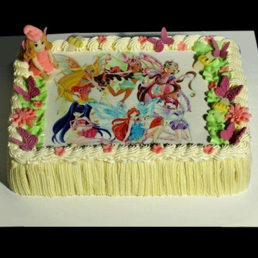 Торт с фотографией №14