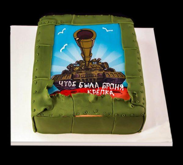 Торт с фотографией №15