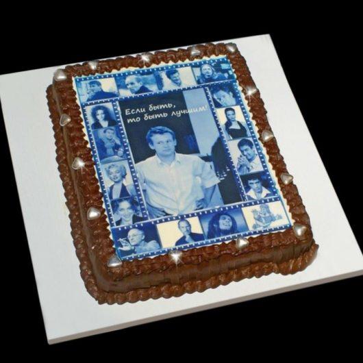 Торт с фотографией №17