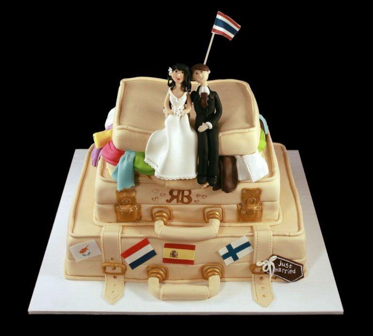 Свадебный торт путешествие