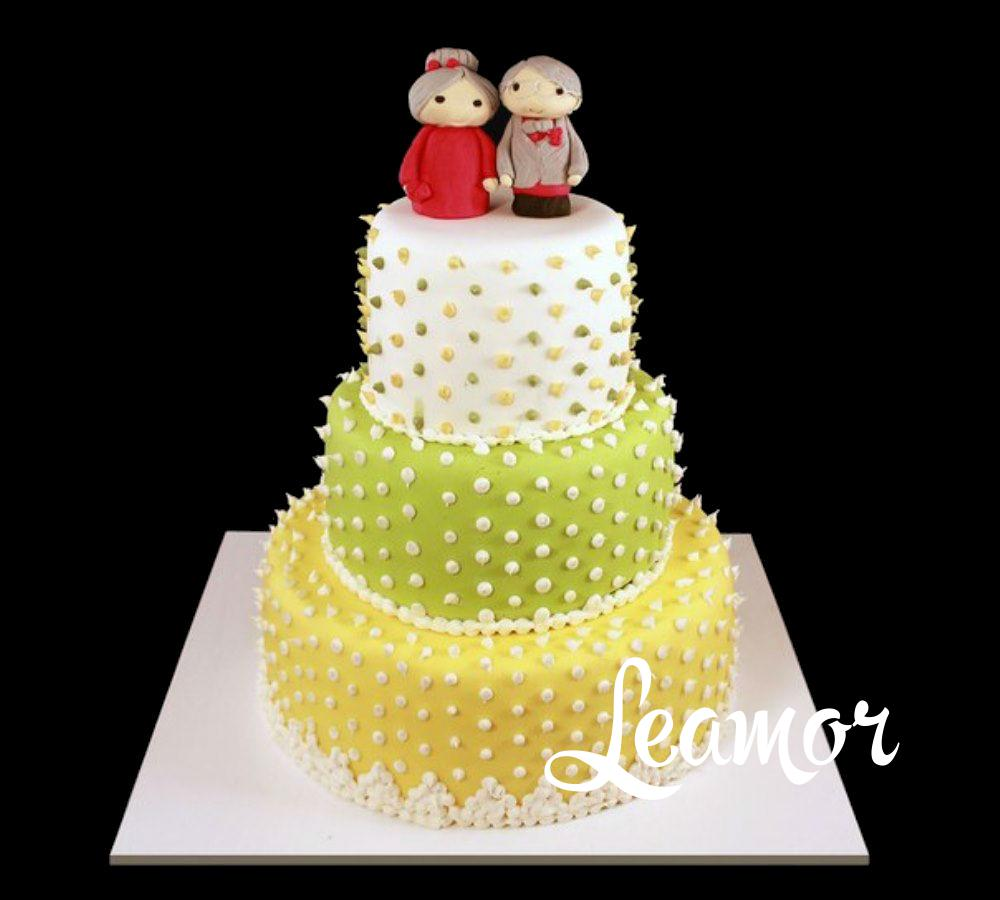 Свадебный торт в стиле аниме