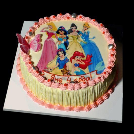 Торт с фотографией №20