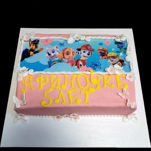 Торт с фотографией №1