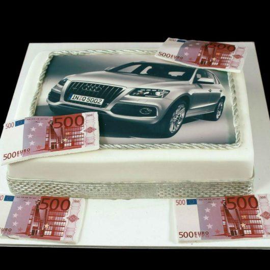 Торт с фотографией №3