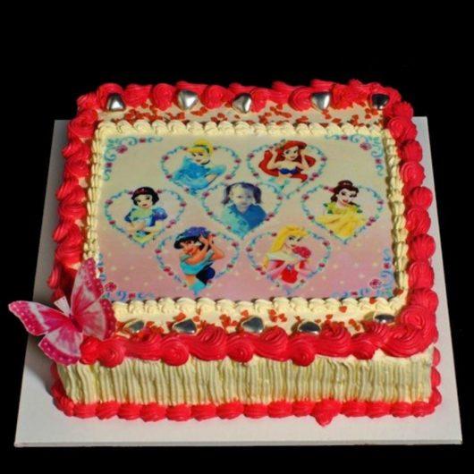 Торт с фотографией №6