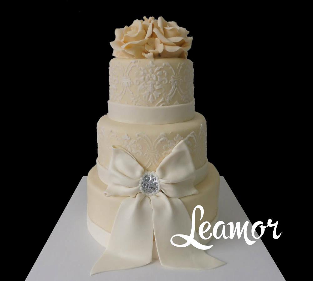 Свадебный торт с Белым бантом
