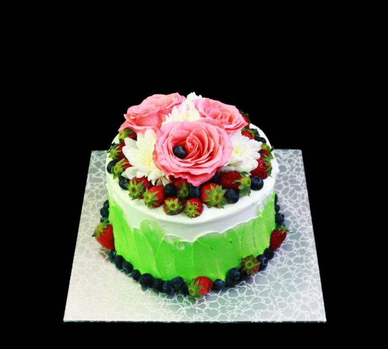 Свадебный торт Летний поцелуй