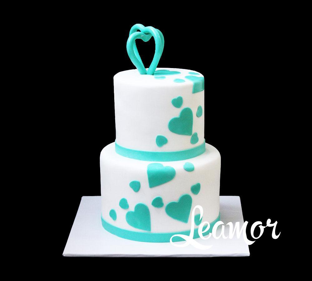 Свадебный торт Любовь и лебеди
