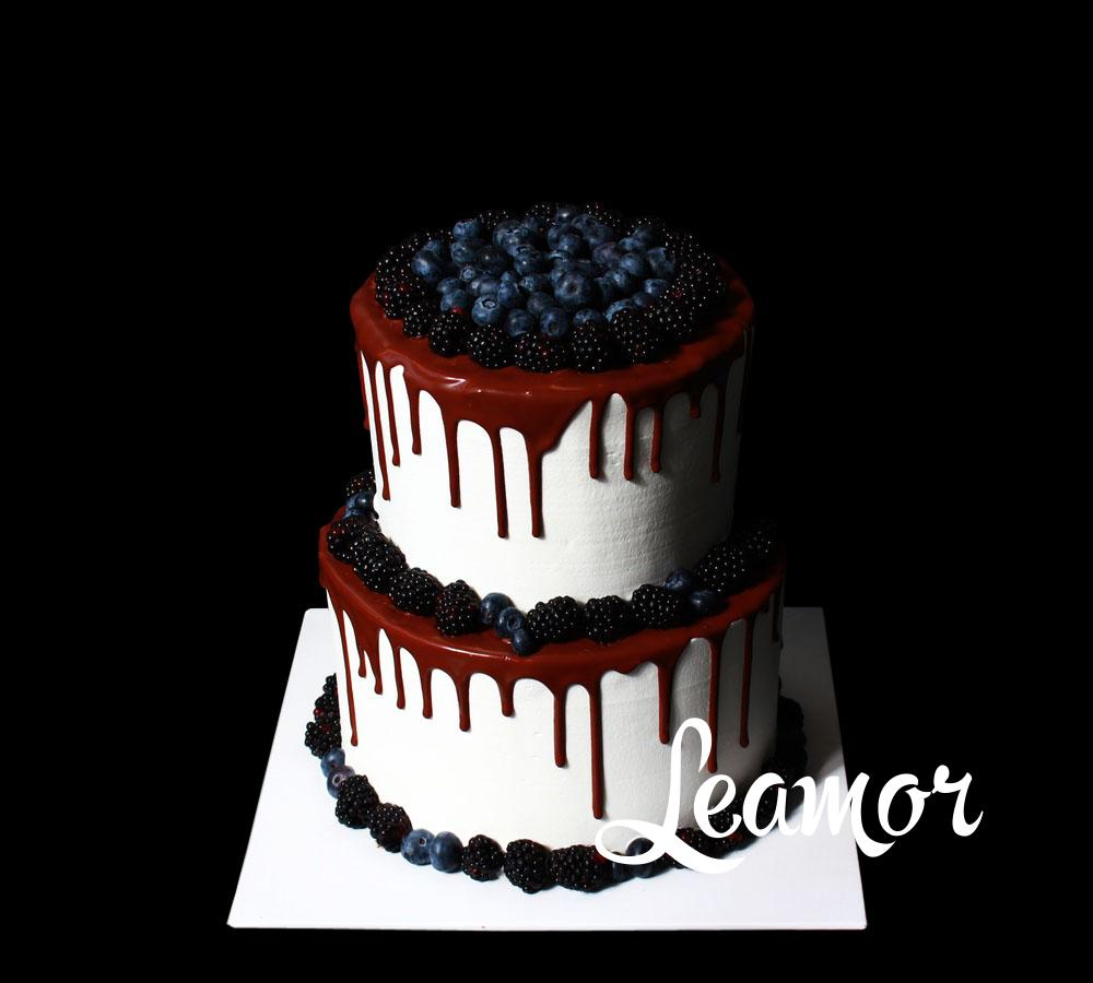 Свадебный торт Ягодное наваждение