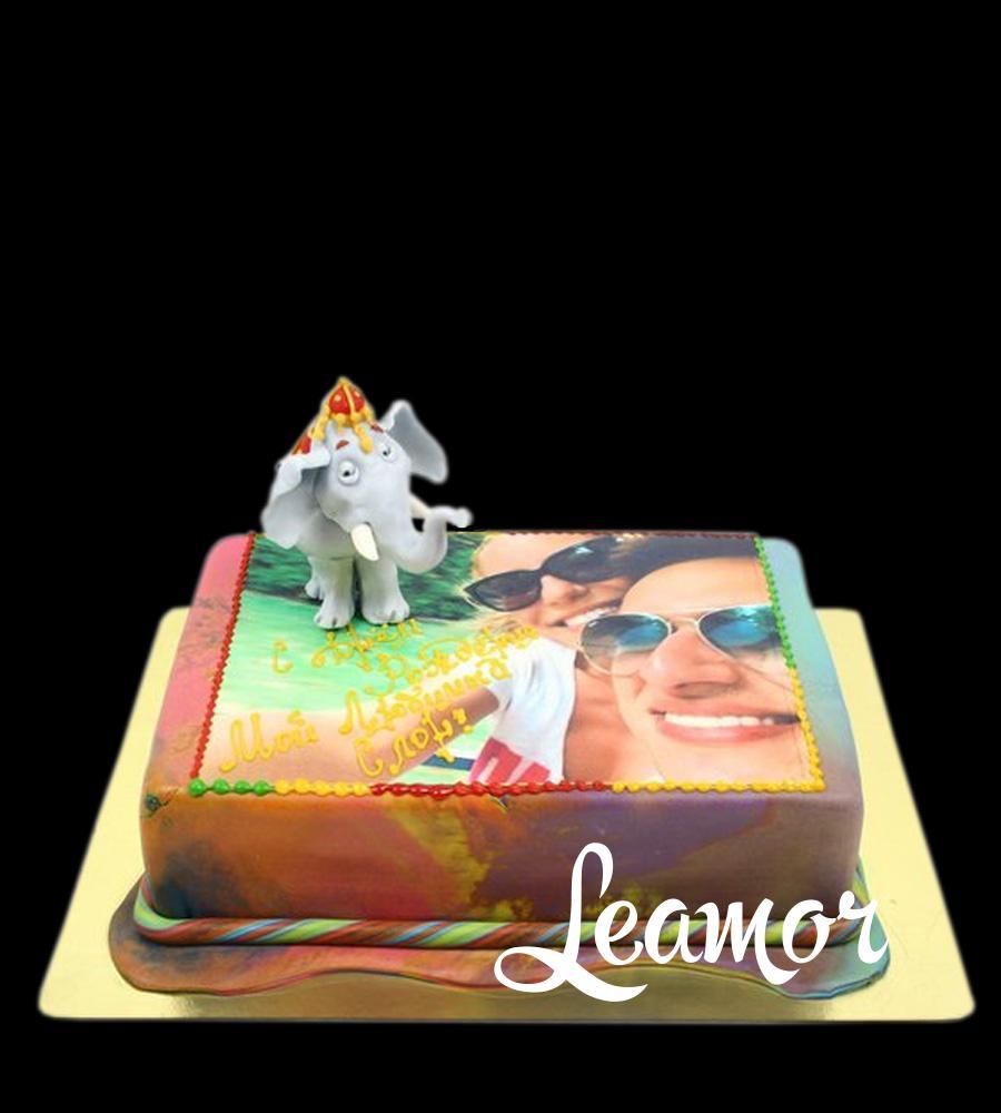Торт Слоном фотопечать
