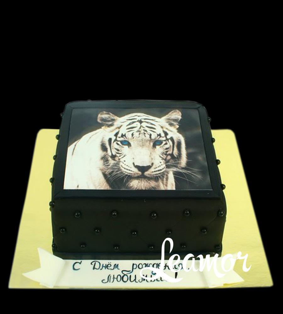 Торт с Тиргом фотопечать