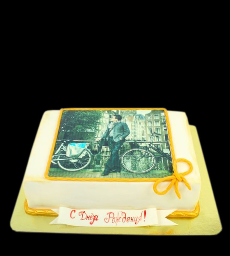 Торт с фотопечатью
